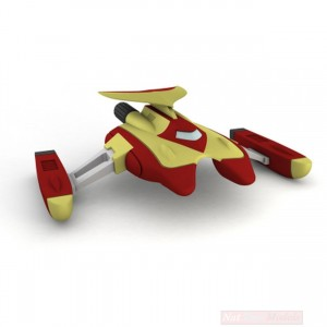 Go Nagai Collection Ufo Robot Grendizer Delfino Spaziale/Marine Spazer 'No Fascicolo'