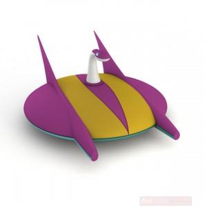 Go Nagai Collection Ufo Robot Grendizer Mini Dischi Tipo  2 'No Fascicolo'