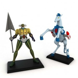 Go Nagai Collection Kotetsu Jeeg With Pantheroid/Antares 'No Fascicolo' ***Speciale