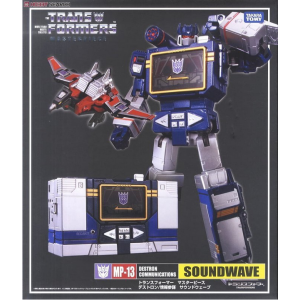 Takaratomy Transformers Masterpiece MP-13 Soundwave W/Laserbeak + Pins