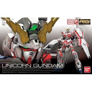 Bandai Gunpla Real Grade RG 1/144 Gundam RX-0 Unicorn