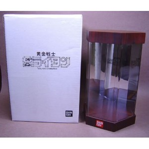 Bandai Soul Of Chogokin GX-32 Wooden Display Stand