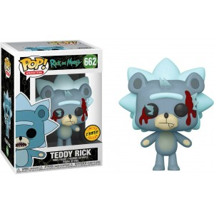 Funko POP Animation Rick And Morty 662 Teddy Rick 'Chase'