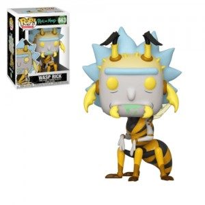 Funko POP Animation Rick And Morty 663 Wasp Rick