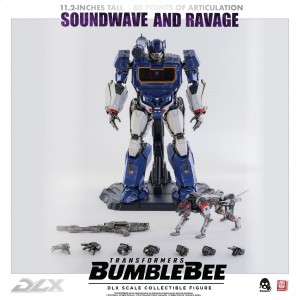 Hasbro x Threezero Transformers Bumblebee The Movie: Soundwave & Ravage