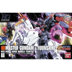 Bandai Gunpla High Grade HGFC 1/144 Gundam Master & Fuun Saki