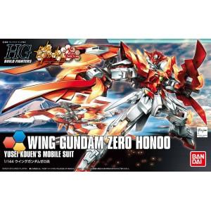 Bandai Gunpla High Grade HGBF 1/144 Gundam Wing Zero Honoo