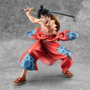 Megahouse One Piece P.O.P. Luffy Taro Wano Kuni Statue