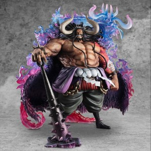 Megahouse One Piece P.O.P. WA-MAXIMUM Kaido Of The Beasts Statue