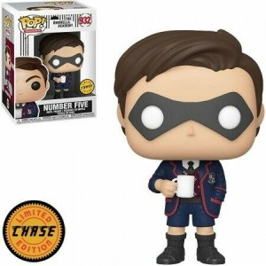 Funko POP Television Umbrella Academy 932 Number Five 'Chase'