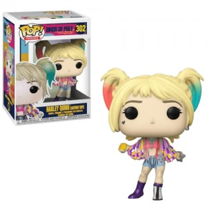Funko POP Heroes Birds Of Prey 302 Harley Quinn 'Caution Tape'