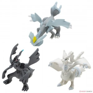 Takaratomy Pokemon Moncolle Battle Strogest Set Vol.3 Reshiram Zekrom Kyurem