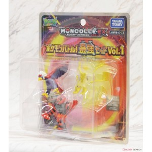 Takaratomy Pokemon Moncolle Battle Strogest Set Vol.1 Ultra Necrozma Incineroar Braviary