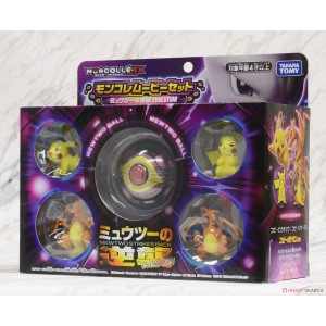 Takaratomy Pokemon Moncolle Monster Collection Mew two Strikes Back Evolution