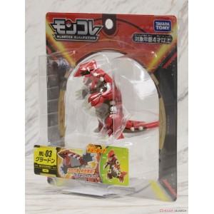 Takaratomy Pokemon Moncolle ML-03 Groudon