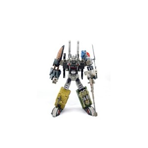 Fansproject Crossfire II Explorer & Munitioner for Combacticons Team Bruticus