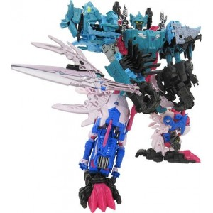 Takaratomy Transformers Generation Select King Poseidon/Piranacons Set di 6 Completo