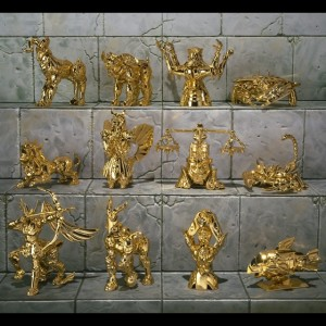 Gold Saint Cloth Object Appendix Tamashii