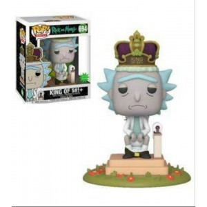 Funko POP Animation Rick and Morty 694 Rick King of Shit/Toilet W/Sound