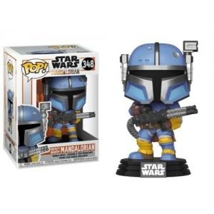 Funko POP Star Wars The Mandalorian 348 The Heavy Infantry Mandalorian