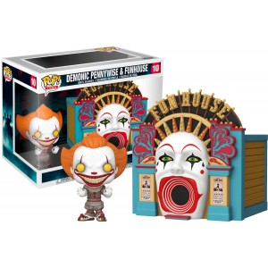 Funko POP Movies Town 10 Demonic Pennywise & Funhouse