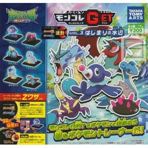 Takaratomy 3DS Pokemon Sun & MOON Alola Moncolle Get Mini figura Gashapon Candy Toys