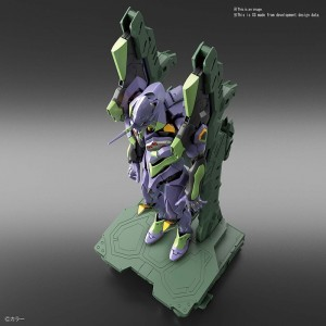 Bandai Plamo Real Grade RG 1/144 Neo Genesis Evangelion EVA-01 Test Type & Transport Set