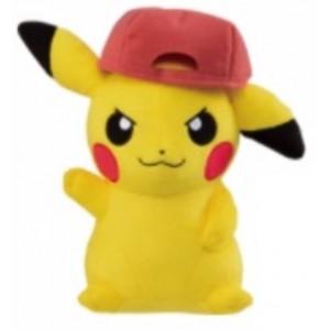 Banpresto Craneking Pokemon Sun And Moon Pikachu With Hat Type A Plush Doll 30 cm