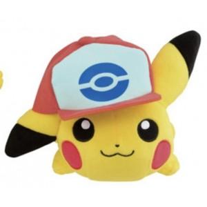 Banpresto Craneking Pokemon Sun And Moon Pikachu With Hat Type E Plush Doll 30 cm