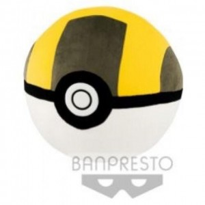 Banpresto Pokemon Pokeball Hyper Ball Big Size Plush Cushion Pillow 40 cm