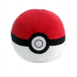 Banpresto Pokemon Pokeball Monster Ball Big Size Plush Cushion Pillow 40 cm