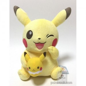 Banpresto Craneking Pokemon Tea Party Pikachu With Egg Plush Doll 30 cm