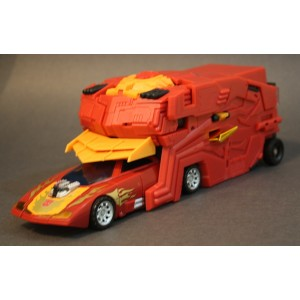 Fansproject TFX-04 Rodimus Protector With TFX-05 Sidearm