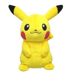Sanei Nintendo Pokemon PP01 Pikachu Plush Doll 20 cm