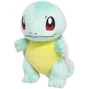 Sanei Nintendo Pokemon PP19 Squirtle-Zenigame Plush Doll 20 cm