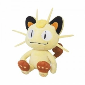 Sanei Nintendo Pokemon PP27 Meowth Plush Doll 20 cm