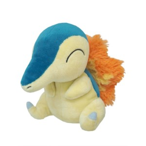Sanei Nintendo Pokemon PP41 Cyndaquill Plush Doll 20 cm
