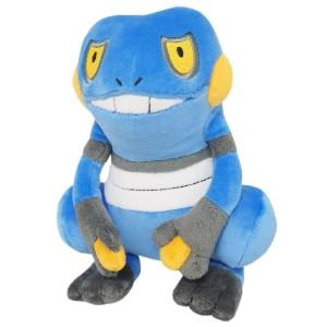 Sanei Nintendo Pokemon PP45 Croagunk Plush Doll 20 cm
