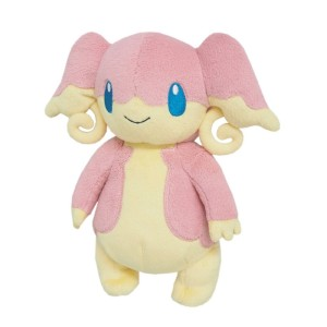 Sanei Nintendo Pokemon PP46 Audino Plush Doll 20 cm