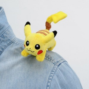 Takaratomy Pokemon Mewtwo Strikes Back Pikachu Mini Plush Doll 10 cm