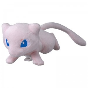 Takaratomy Pokemon Mewtwo Strikes Back Mew Mini Plush Doll 10 cm