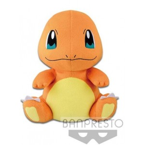 Banpresto Craneking Pokemon Charmender Plush Doll 15 cm