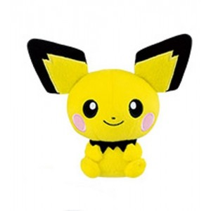 Banpresto Craneking Pokemon Pichu Plush Doll 15 cm