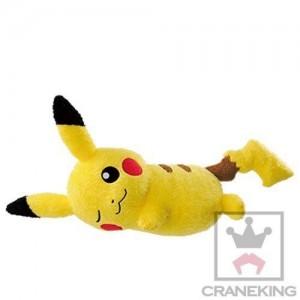 Banpresto Craneking Relax Time Pikachu Plush Doll Type A 30 cm