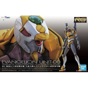 Bandai Plamo Real Grade RG 1/144 Neo Genesis Evangelion EVA-00 Prototype