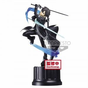 Banpresto Espresso Est Sword Art Online SAO Extra Motions Kirito