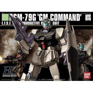 Bandai Gunpla High Grade HGUC 1/144 GM COMMAND