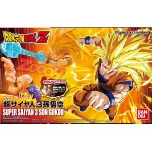 Bandai Plamo Figure Rise Dragonball Z Super Saiyan 3 Goku