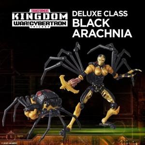 Hasbro Transformers Kingdom 'War For Cybertron Trilogy' Deluxe Class Black Arachnia