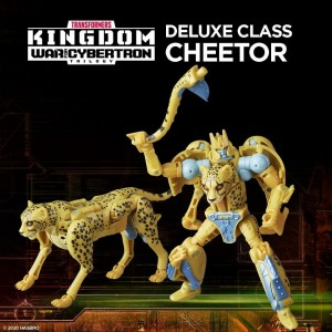 Hasbro Transformers Kingdom 'War For Cybertron Trilogy' Deluxe Class Cheetor